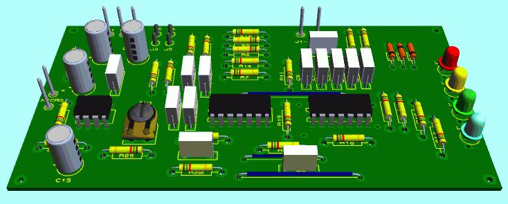 electronique 3d modulateur de lumiere jeu de lumiere. Black Bedroom Furniture Sets. Home Design Ideas